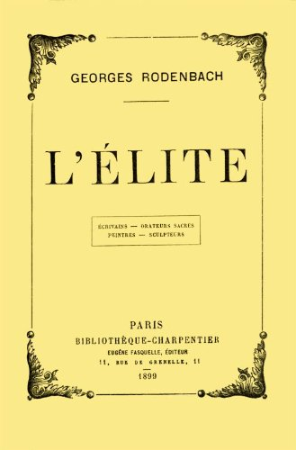 llite-by-georges-rodenbach-french-edition