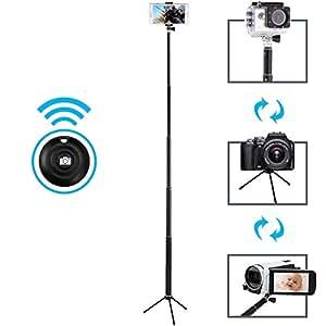 selfie stick maono bluetooth remote and tripod portable waterproof monopod for. Black Bedroom Furniture Sets. Home Design Ideas