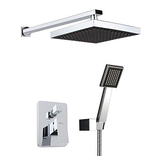 Amzdeal Single Handle Showerhead Handheld
