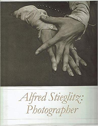 Photographer Alfred Stieglitz