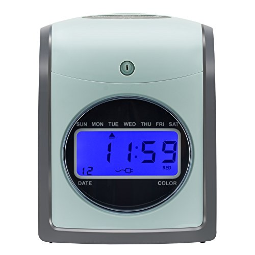 sself employee time clock card machine include 100 cards s 860 by - Time Card Machine