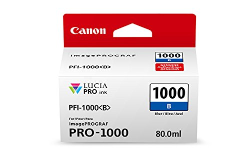 CanonInk Lucia PRO PFI-1000 Blue Individual Ink ()