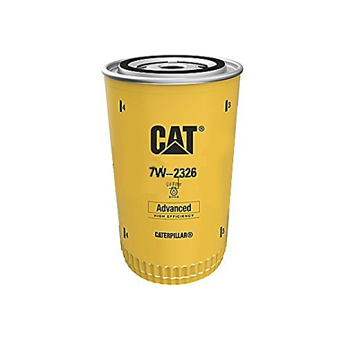 Used Caterpillar Excavator - Caterpillar 7W2326 7W-2326 Engine Oil Filter Advanced High Efficiency Multipack (Pack of 2)