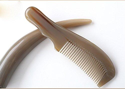 GuiXinWeiHeng Handmade white horns comb comb by GuiXinWeiHeng (Image #9)
