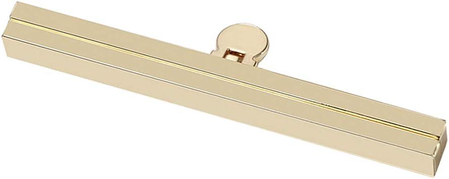 Sharplace N/ähen In M/ünzenbeutel Metall Verschluss Taschenverschluss Clip Metallrahmen f/ür Bag Making 11,4cm