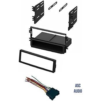 Amazon com asc audio car stereo radio dash kit and wire harness for 2005 kia spectra ex asc audio car stereo radio dash kit and wire harness for installing a single din radio