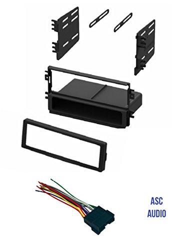 Kia Sedona Aftermarket (ASC Audio Car Stereo Radio Dash Kit and Wire Harness for installing a Single Din Radio for 2001 - 2004 Kia Optima, 2003 - 2005 Kia Rio, 2003 - 2005 Kia Sedona, 2003 Kia Spectra)