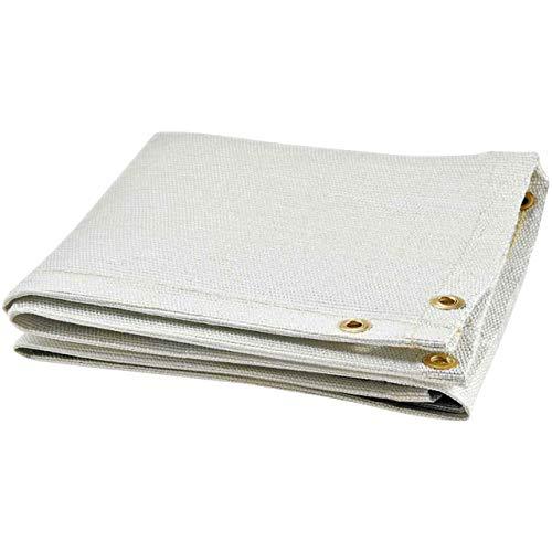 Steiner 367-10X10 Glass Web 35-Ounce Fiberglass Welding Blanket, White, 10