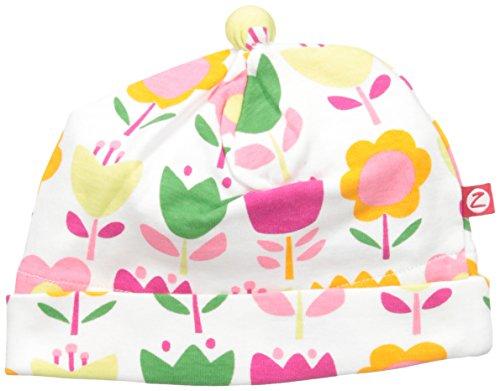 (Zutano Baby Girls' Cotton Hat, Linnaea, 6M (3-6 Months))