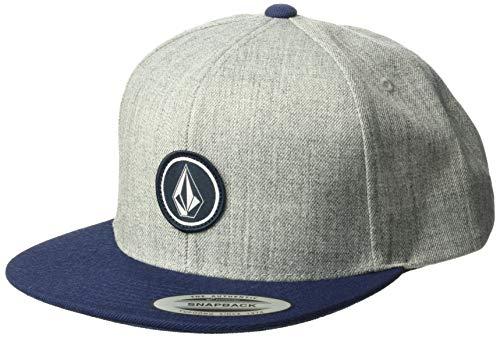 - Volcom Men's Quarter Twill Hat, Medium Grey One Size Fits All