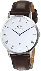 Daniel Wellington - Dapper Bristol - Silver 38mm Unisex Leather watch