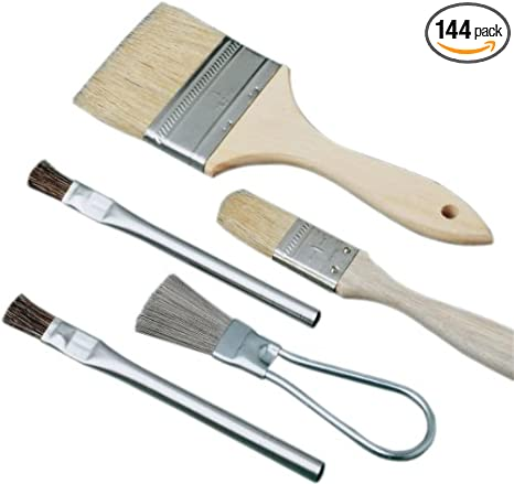 United Abrasives-SAIT 00501 3//8-Inch Acid Brush 144-Pack