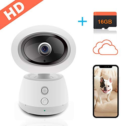 IP Camera Seucrity Cameras-2MP 1080P Cloud Storage with Free 16GB TF Card Baby Monitor-Elder Pet Dog Surveillance Cameras Wireless-for Home Security Camera Systems ... by looline