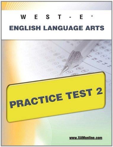 Read Online By Sharon Wynne WEST-E English Language Arts Practice Test 2 [Paperback] pdf epub