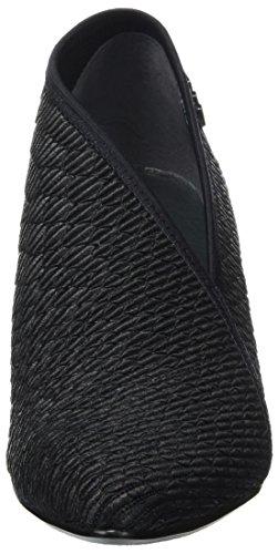 United Nude Damen Fold Lite Mid Pumps Schwarz (Black Python)