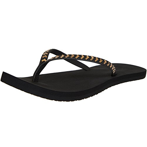 Reef Bliss Embellish Women Flip Flops Sandalen Zehentrenner Black/Bronze