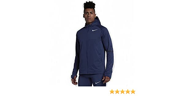 66ee4700fb911e NIKE Men s Binary Blue Shield Max Warm Jacket Hoodie 859212-429 Large at  Amazon Men s Clothing store