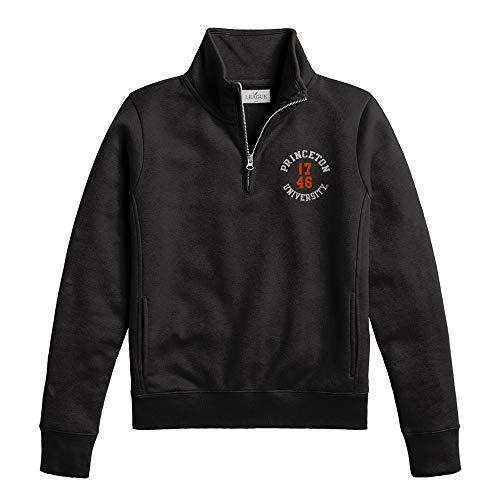 Princeton U-Store League Women's Academy 1/4 Zip (1/4 Sweatshirt Sueded Zip)