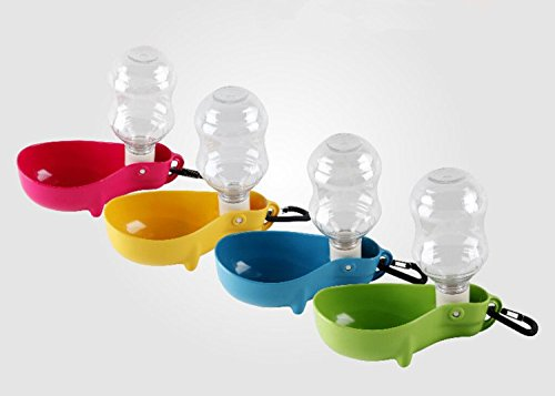 Amazon.com : Foldable Dog Water Bottle Dispenser No Spill Drinking Water Toy Pet Cats Fountain for Outdoor : Pet Supplies