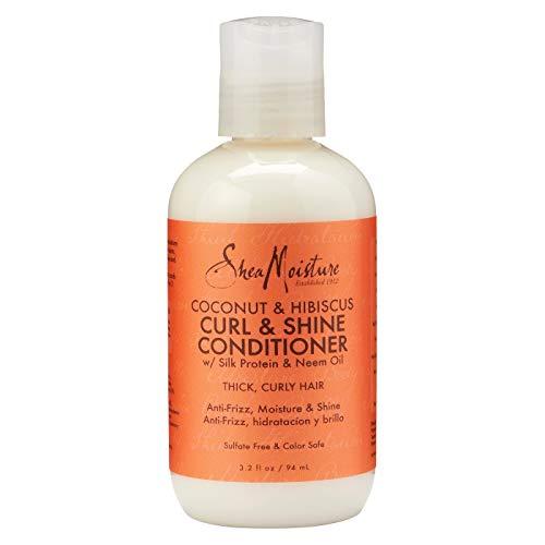 - Shea Moisture Curl & Shine Conditioner, Coconut & Hibiscus, 3.2 Ounce