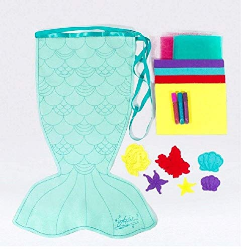 Seedling Disney's The Little Mermaid Design Your Own Fintastical Mermaid Tail Activity Kit ()