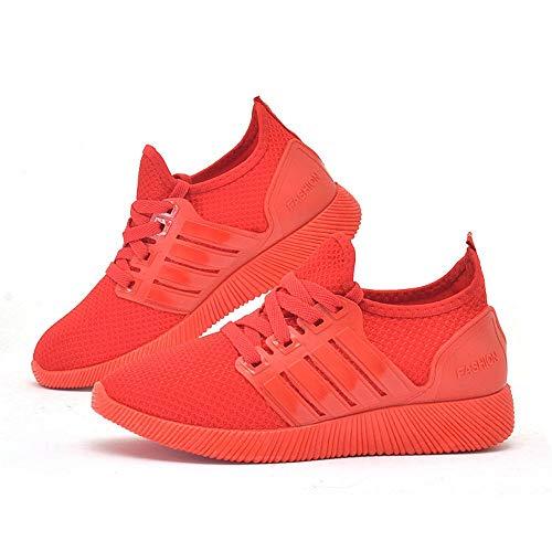 Rojo Martin Botas Cinnamou de Mujer Tacón de Mocasines Mujeres Calzado para Mini de Zapatos Trabajo Hebilla Corto de Elegantes UrUdq5w