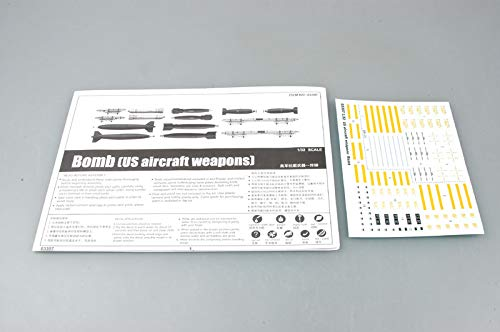 (Trumpeter 1/32 US Aircraft Weapons Set: Bombs Model Kit)
