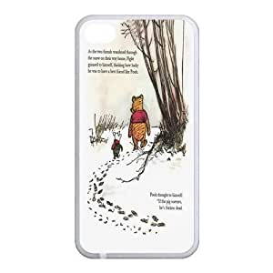Custom Winnie The Pooh Back case for iphone4,4S JN4S-371
