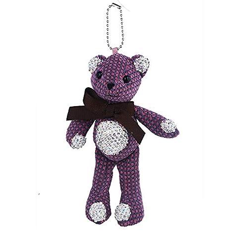 Amazon.com: Rarido - Llavero de peluche con diseño de oso de ...