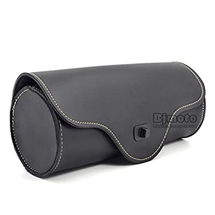 BJ Global bolsas de barril de piel sintética lateral para ...