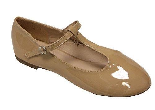 Anna Triss-23 Scarpe Basse Da Donna Con Cinturini Alla Caviglia Regolabili Con Cinturino Alla Caviglia E Punta Tonda