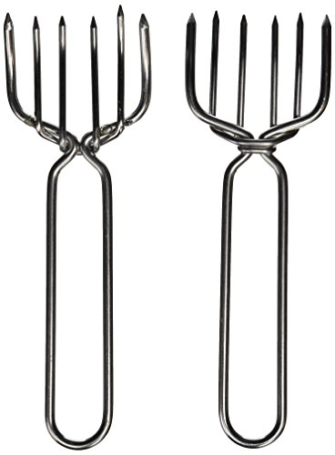 GrillPro 44070 Stainless Steel Meat Claws (Steel Meat Claws compare prices)