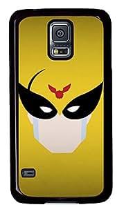 galaxy s5 case,custom samsung galaxy s5 case,TPU Material,Drop Protection,Shock Absorbent,black case,cute cartoon pattern,Glasses Man