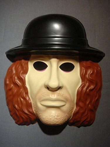 The Undertaker The Deadman WCW WWE Wrestler PVC Mask Kid Size Rubies Halloween Dress Up