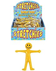 HENBRANDT 20 x Stretchy Smiley Men Party Bags Fillers