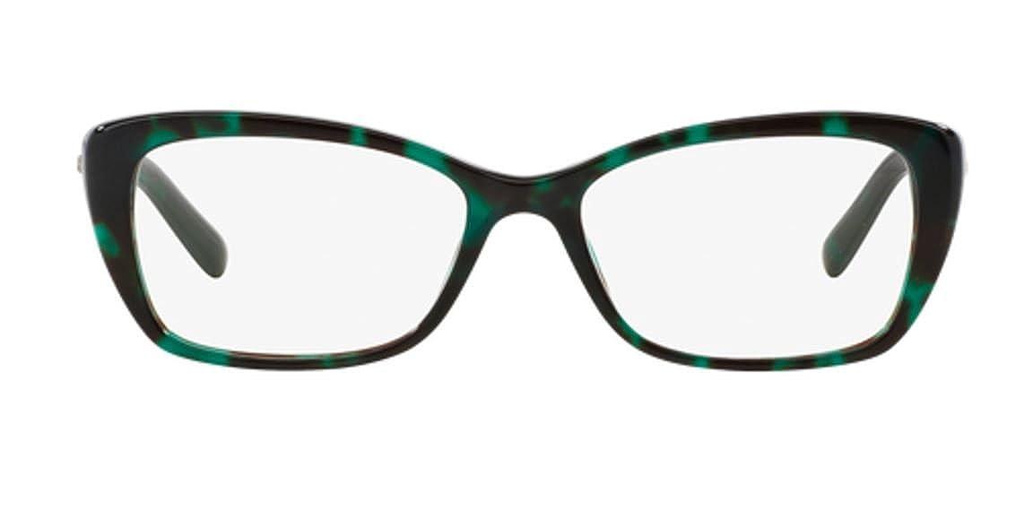 c88845a7d9d9d Amazon.com  Versace VE3201 Eyeglass Frames 5076-52 - Green Havana VE3201- 5076-52  Clothing
