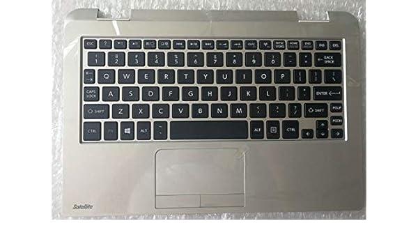 New Toshiba Satellite Radius 11 L15W L10W L15W-B L10W-B Palmrest US keyboard