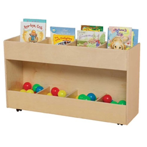 Contender C74415 Mobile Book Organizer by Wood Designs