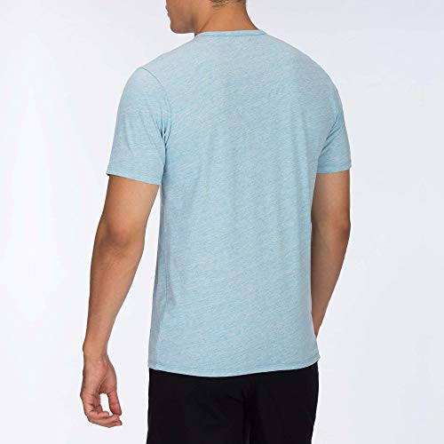Hauts Top S Hurley s Coronado fit Lt M Dri Heather Blue Homme ICIq0