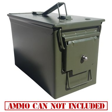 Army Force Gear Ammo Box Can Lock Hardware Kit .50 Cal, Fat 50, 30 Cal, 20 mm, 40 mm (5 Count)