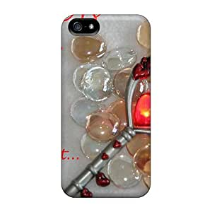 For Iphone 5/5s Premium Cases Covers Key Of Love Protective Cases