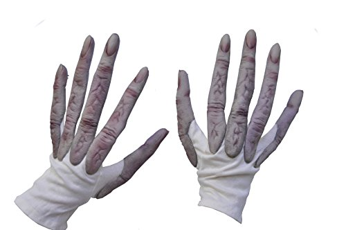 (Alien Hand Gloves Scary Party Adult Halloween Costume)