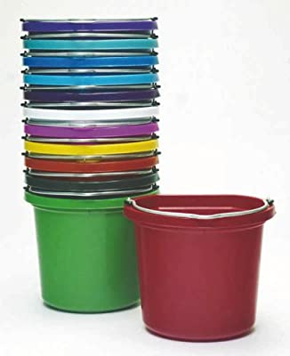 Fortex Rubber Light-Weight Utility Pail for Small Animals, 8-Quart