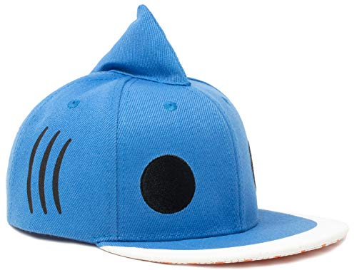 Kid's Sharky Hat | Children's Shark Fin Baseball Cap Boy Girl Child Fun Animal Blue]()