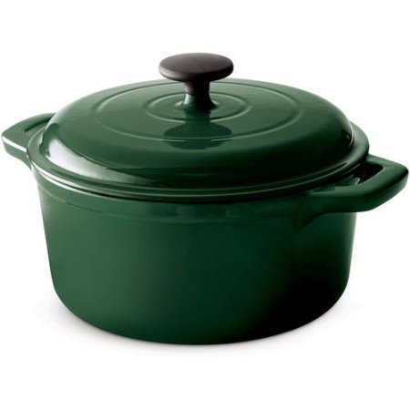 Dutch Oven pot cast iron high quality scratch resistant 4 sl