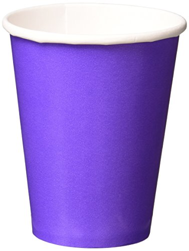 (Amscan New Purple Paper Cups, 9 Oz., 20 Ct.)