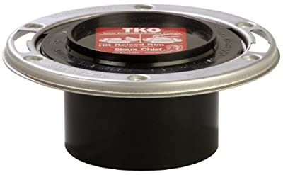 Sioux Chief Mfg 884-ATMPK 4-Inch by 3-Inch Total Knockout Closet Flange