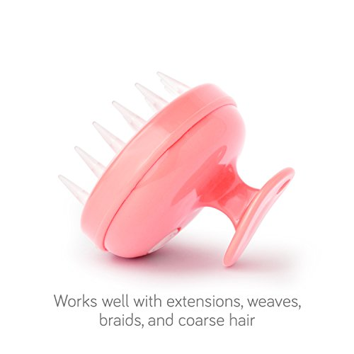 Vanity Planet Groove Rejuvenating Scalp Massager, Pucker-up Pink