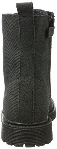 Braqeez Mädchen Bikerfashion Biker Boots Grau (Grey)