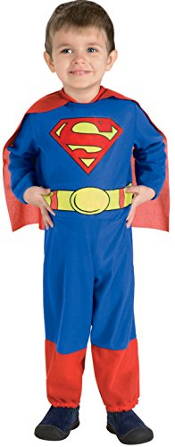 Rubie's Costume Co Toddler Superman Costume for (Toddler Superman Halloween Costume)